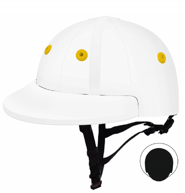 English Peak Style Helmet Polo. (x 1) (84590206-568931b3)